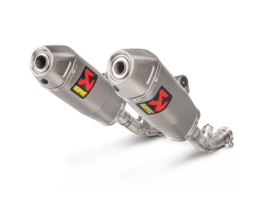 UITLAAT AKRAPOVIC SLIP ON HONDA CRF 450 R 2018