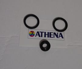 KEERRING/BOURAGE SET VAN 3 ATHENA ( ACHTER POELIE + GAT )