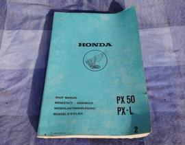 WERKPL HB HONDA PX+PX L