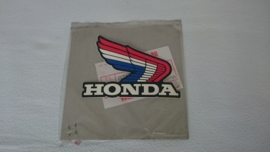 STICKER HONDA WING ROODWITBLAUW