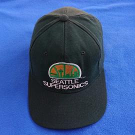VINTAGE 90S STARTER STAR FIT PET ( LICHT GEBRUIKT ) SEATTLE SUPERSONICS