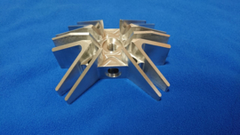 CILINDER KOP CNC MACHINED 47,6 LUCHT+WATER GEKOELD