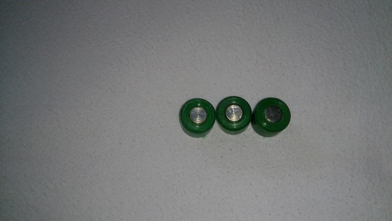 ROLLETJES 14X14 (GROEN 7,9 GR ) ( 3 ROLLETJES!! )