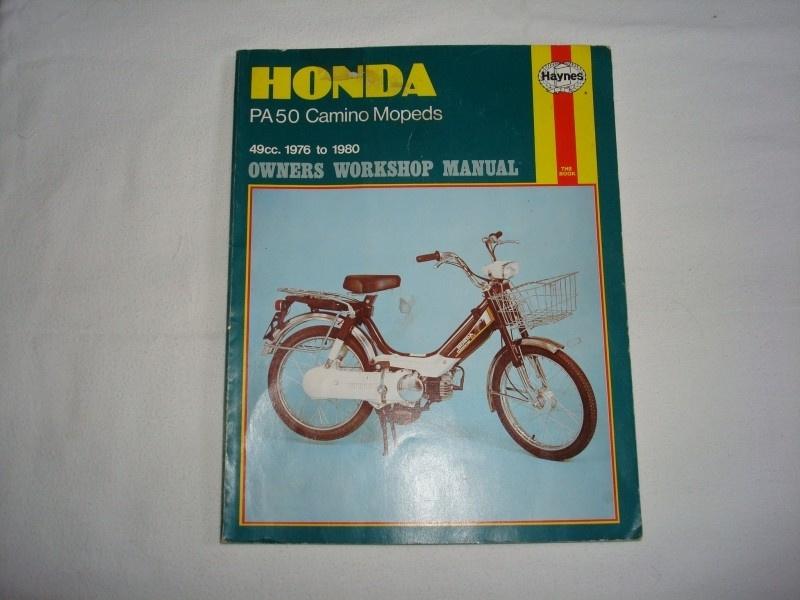 WERKPL BOEK HONDA CAMINO 1976 TOT 1980