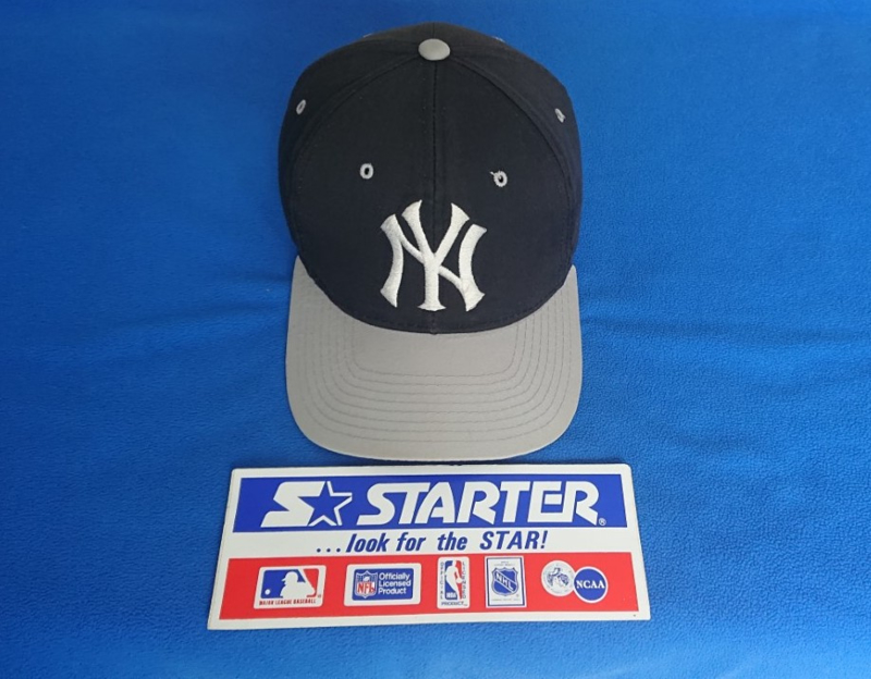 VINTAGE 90S STARTER PET ( LICHT GEBRUIKT ) NEW YORK YANKEES