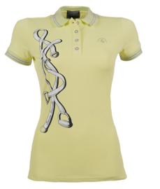 ** Lauria Garrelli Poloshirt 'Limoni Strass'