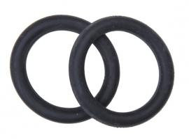 Rubber ringen voor veiligheidsbeugel, zwart