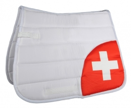 HKM Zadeldek 'Flag Corner', Zwitserland, Limited Edition