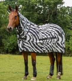 Bucas PONY Eczeemdeken 'Sweet-Itch Zebra', Full Neck