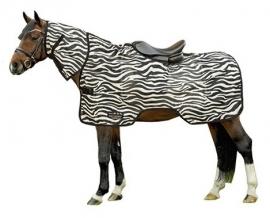 HKM Vliegen uitrijdeken 'Zebra'