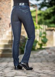 Lauria Garrelli Jodphur rijbroek 'Limoni Straight Leg', Siliconen Grip