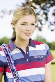 HKM PRO TEAM Poloshirt 'International Stripe', Kinderen