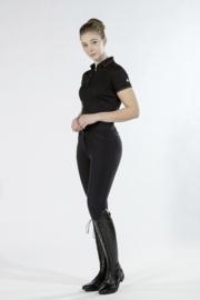 HKM Rijbroek 'Rosegold Glamour Style', Siliconen Grip