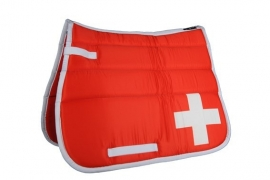 HKM Zadeldek 'Flag Allover', Zwitserland, Limited Edition
