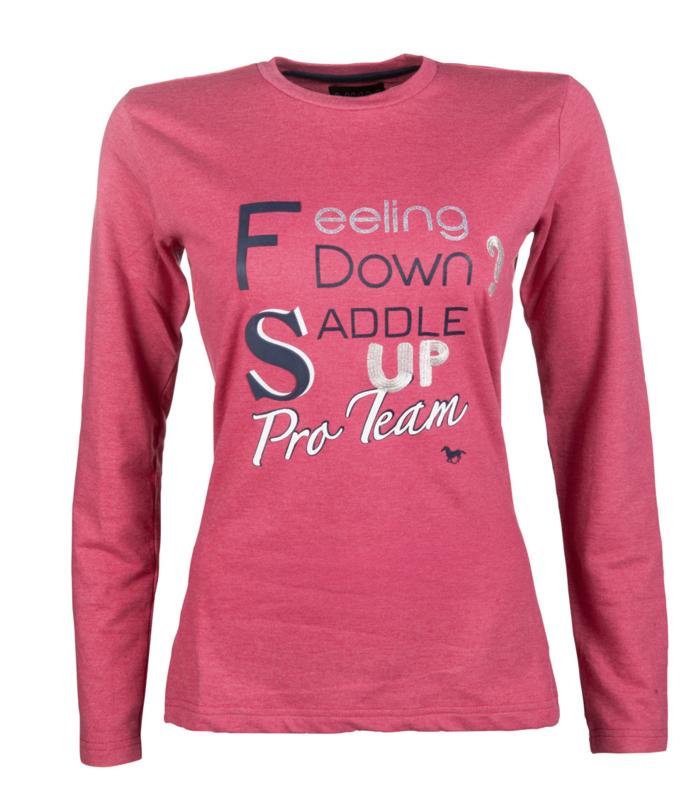 HKM PRO TEAM Shirt 'Speed Print'