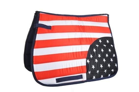 HKM Zadeldek 'Flag Allover', Amerika, Limited Edition