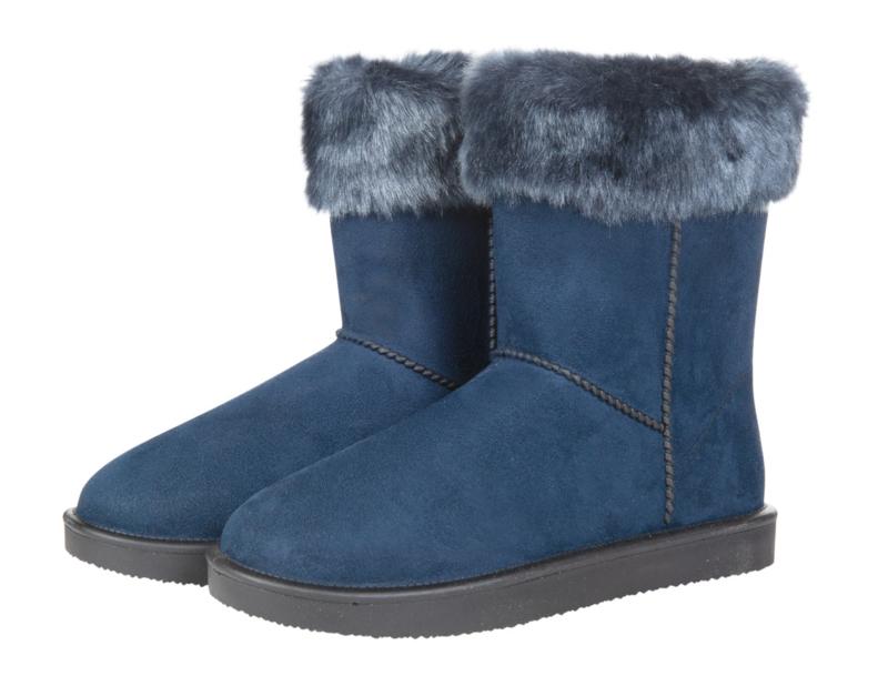 ** HKM Gevoerde Stalschoen 'Davos Fur' WATERDICHT, Limited Edition, 3 KLEUREN