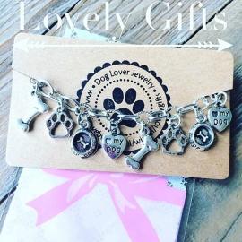 Dog Lover bedel armband