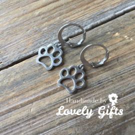 Dog Lover - Oorbellen Dog Paw