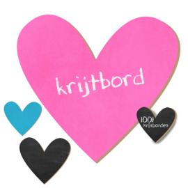 Krijtbord Hart #2 - 20-50-75cm (KR008)