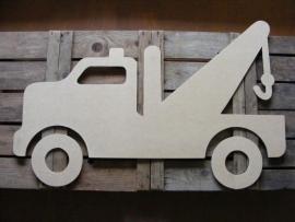 MDF Figuur 100cm `Takelwagen`