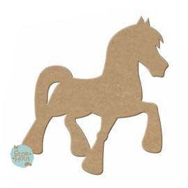 MDF Figuur `Paard` 10cmx6mm (M114) | Koopjeshoek
