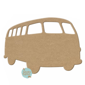 MDF figuur: VW Bus (M304)