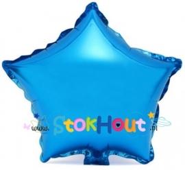 Ster ballon - Blauw - 20cm (ST037)