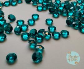 Diamanten - Turquoise - 8mm - +/- 100st (ST135)