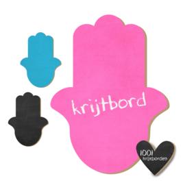 Krijtbord Hamsa Hand - 20-50-75cm (KR011)