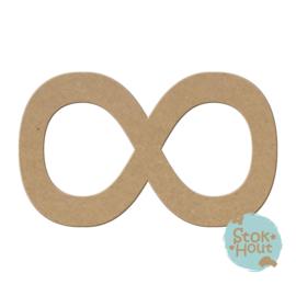 MDF figuur: Infinity teken (M189)