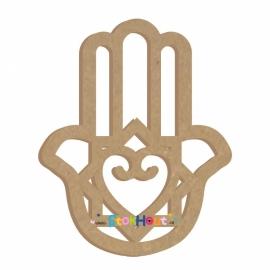 MDF figuur 60cm Handje van Fatima (Hamsa) #1