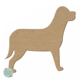 MDF figuur: Hond #1 (M078)