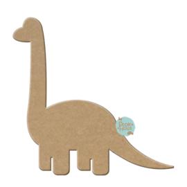 MDF figuur: Dinosaurus Brachiosaurus (M027)