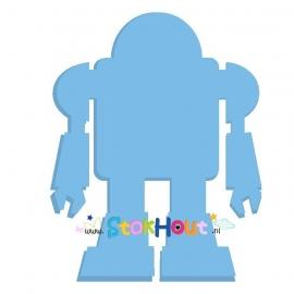 Muurfiguur Robot (10-20cm)