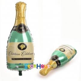 Champagne fles ballon - 90cm (ST045)