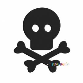 Muurfiguur Skull and Bones (30-50-75-100cm)