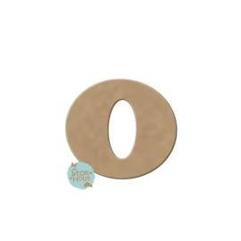 MDF Letter 'o' 10cmx6mm | Koopjeshoek