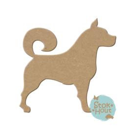 MDF figuur: Hond #2 (M231)