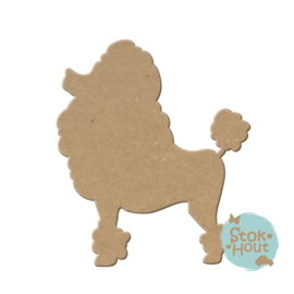 MDF figuur: Hond #3 (M232)