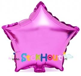 Ster ballon - Rose - 20cm (ST036)