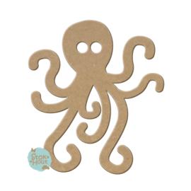 MDF figuur: Octopus (M016)
