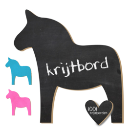Krijtbord Paard - 20-50-75cm (KR007)