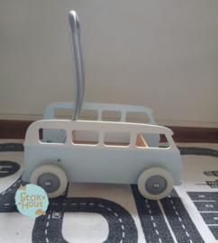 "Loopkarretje ""VW busje"" (bijv. Licht blauw) (ST086)"