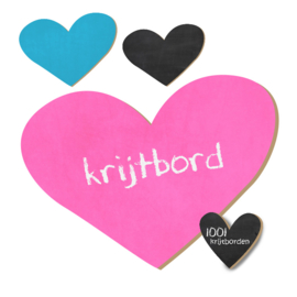 Krijtbord Hart #1 - 20-50-75cm (KR017)