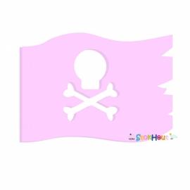 Muurfiguur Piratenvlag (30-50-75-100cm)