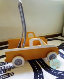 """Loopkarretje """"American Pick-up"""" (bijv. Oranje) (ST092)"""