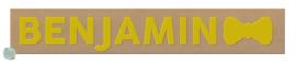 Naampuzzel 9-11 letters. Bijv. 'Benjamin'