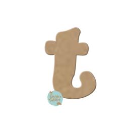 MDF Letter 't' 10cmx6mm | Koopjeshoek