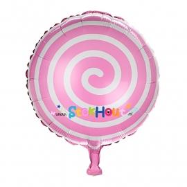 Folieballon Spiraal - Roze - 45cm (ST047)